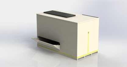 Biological air washer of Inno+