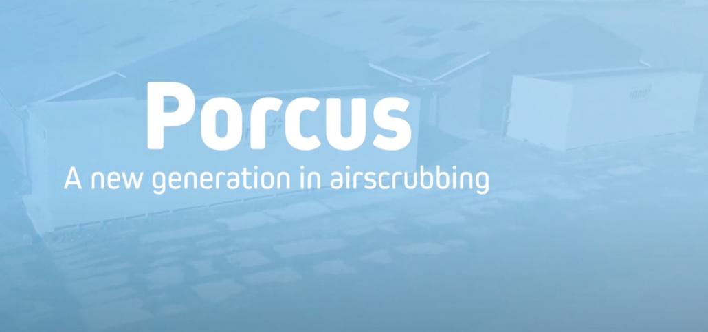 Porcus luchtwasser