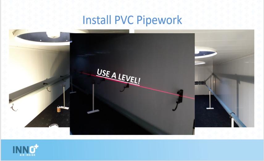 PVC pipework